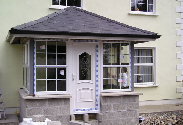 Superglaze Glazed Porch